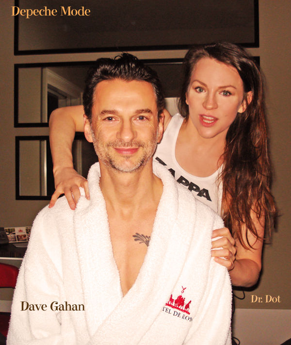 dave gahan and family
